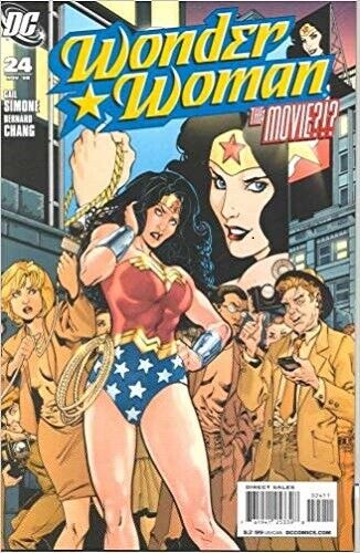 Wonder Woman #24 DC Comic book  Back Issue NEW & Unread 2008