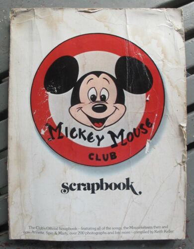 MICKEY MOUSE CLUB Scrapbook 1975 Keith Keller