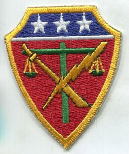 WW2 WWII US Army War Crimes Trials Japan patch Reproductions - 156472