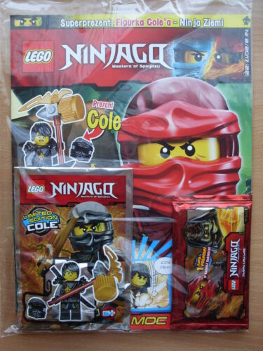 LEGO NINJAGO 2 2017 Polish Magazine i Cole  Limited Edition Mini Figure