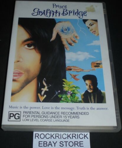GRAFFITI BRIDGE DVD (PRINCE) REGION 4