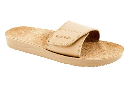 Maseur Massage Sandal Gentle Beige Support for Arches, Heels and Toes NEW SIZE 9