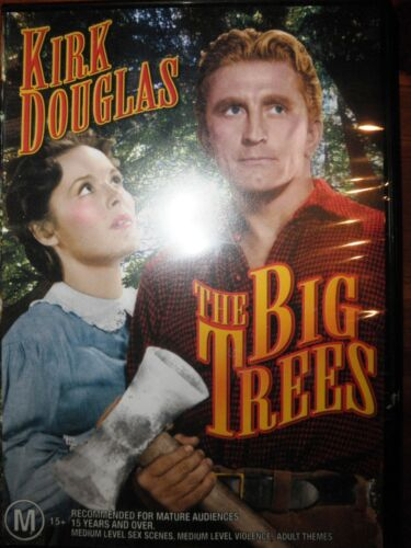The Big Trees DVD Features Kirk Douglas Very Good Condition