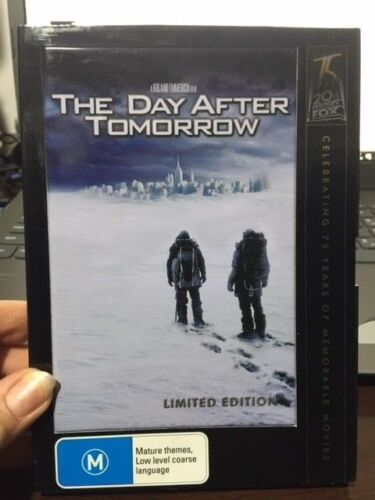 THE DAY AFTER TOMORROW - Limited Edition - Roland Emmerich film - DVD/PAL/R4