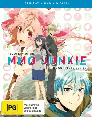 RECOVERY OF AN MMO JUNKIE Complete Series ~ Blu-ray + DVD Region [B][A][4][2][1]