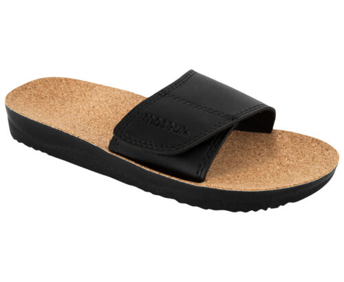 Maseur Massage Sandal Gentle BLACK Size 5 Support for Arches, Heels and Toes NEW