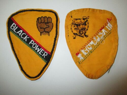 e3186 US Army Vietnam 1st Cavalry Division Black Power Novelty Patch  IR15TReproductions - 156445