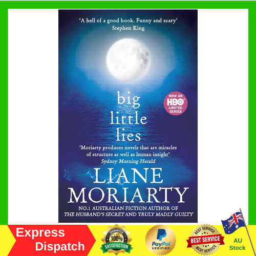 Big Little Lies by Liane Moriarty Paperback Book Bestseller Free Shipping NEW