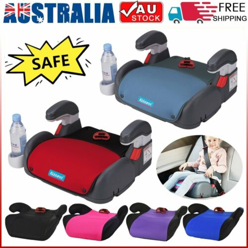 Car Booster Seat Chair Cushion Padded Mat For Toddler Children Child Kids Sturdy