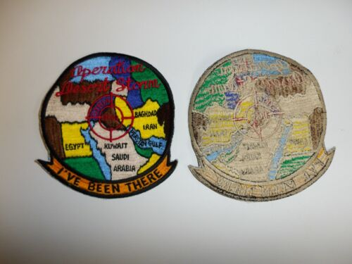 e3686 US Military Gulf War Operation Desert Storm I've Been There patch IR18BReproductions - 156449