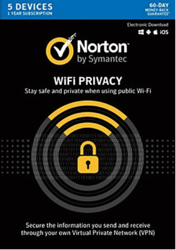 Norton WiFi Privacy - 1 Year for 5 Device