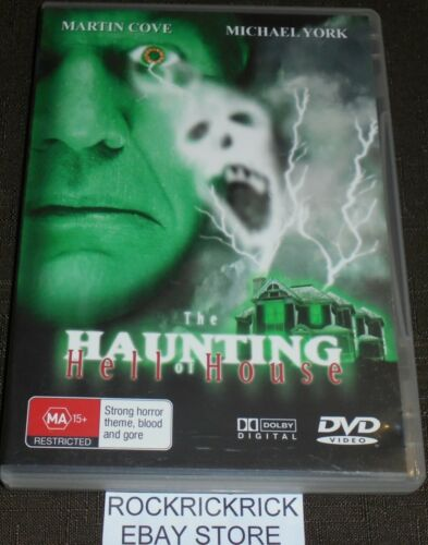 THE HAUNTING HELL OF HOUSE DVD (ALL REGION) MARTIN COVE, MICHAEL YORK