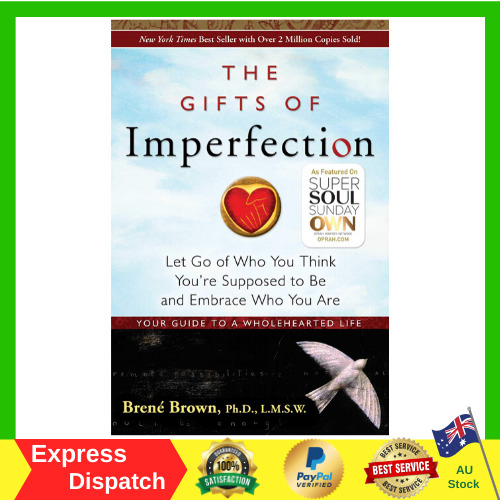 The Gifts Of Imperfection By Brene Brown Paperback Book BRAND NEW FREE SHIPPING