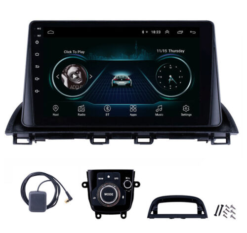 For Mazda 3 Axela Car Stereo Radio Android 8.1 2Din Quad-core 2G+32G Mirror Link