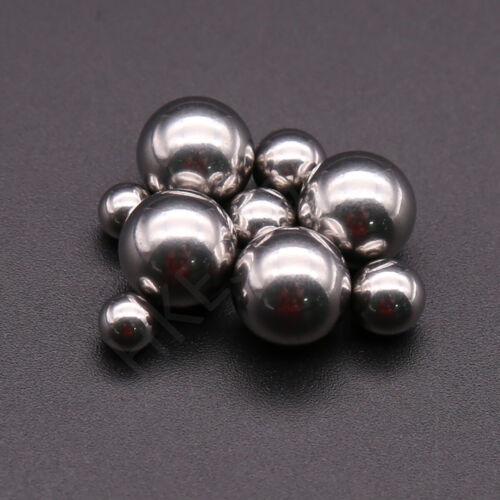 5PCS 25mm 304 Stainless Steel Sphere Hollow Loose Bearing Ball Home Decoration