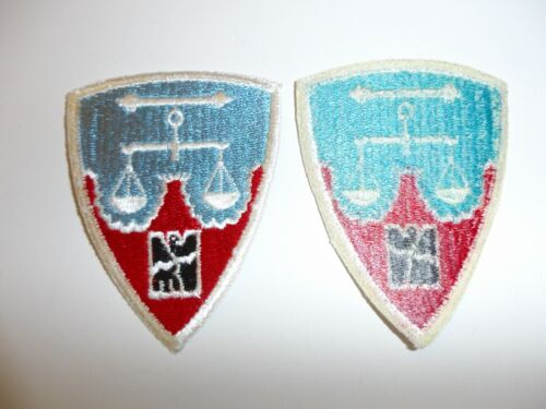 e3862 Post WW 2 US Army Nuremberg District patch occupation US made 70's R9CReproductions - 156472
