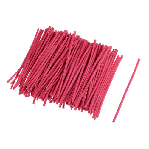 3 Inches Plastic Twist Ties Reusable Cable Cord Wire Ties Red 1000pcs