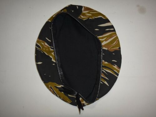 Vietnam War Tiger Stripe Beret Worn By US Army Special Forces TeamHats & Helmets - 36062
