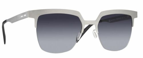 ITALIA INDEPENDENT 0503 52 075 075 SILVER SUNGLASSES ARGENTO GREY LENSES SOLE