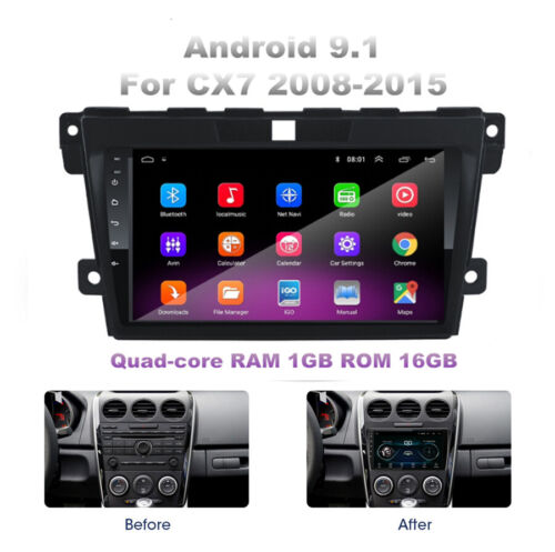 """For MAZDA CX-7 2008-15 Car Stereo Radio 9"""" Android 9.1 GPS Navi 1+16GB w/ Canbus"""