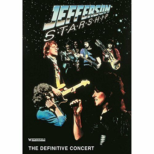 Jefferson Starship The Definitive Concer DVD NEW