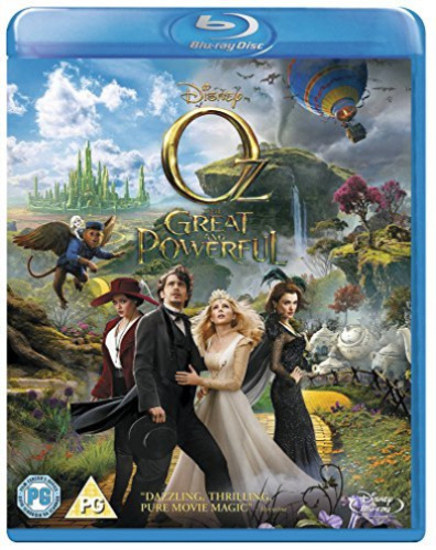 Ted Raimi, Bill Cobbs-Oz - The Great and Powerful Blu-ray NEW