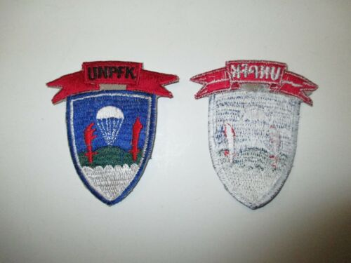 e3338 US Army Korea United Nations Partisan Forces Patch   R21E2