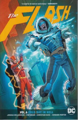 The Flash vol 6 Cold Day In Hell trade paperback DC Universe Rebirth Williamson