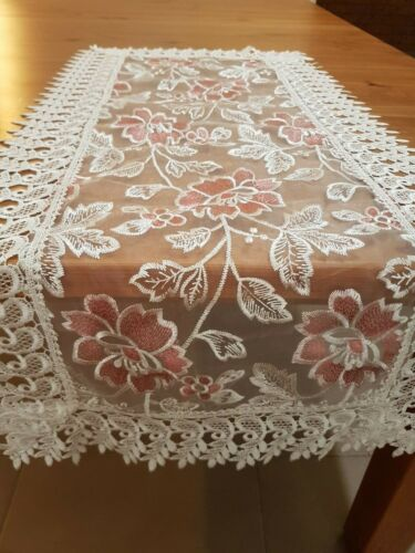 SPECIAL (SetOf2) * Rectangle 40*90cm T/Runners(White/RosePink)