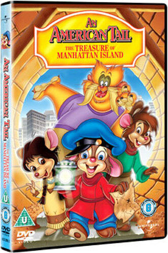 AN AMERICAN TAIL 3 - TREASURE OF MANHATTAN ISLAND DVD [UK] NEW DVD