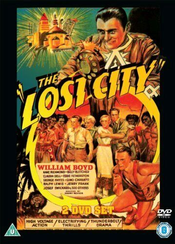 THE LOST CITY DVD [UK] NEW DVD