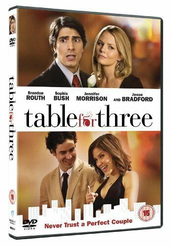 TABLE FOR THREE DVD [UK] NEW DVD