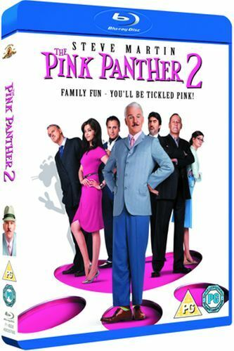 THE PINK PANTHER 2 BLU-RAY [UK] NEW BLURAY