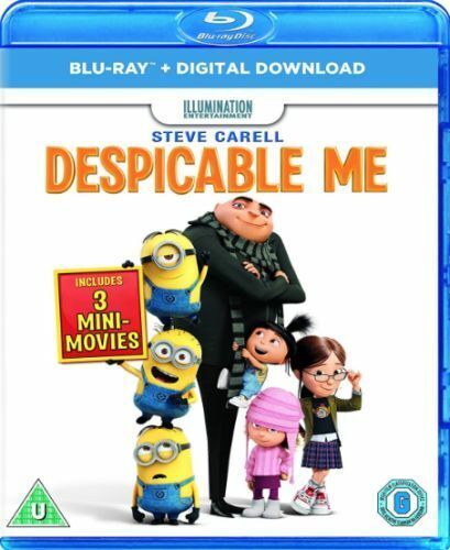 DESPICABLE ME BLU-RAY [UK] NEW BLURAY