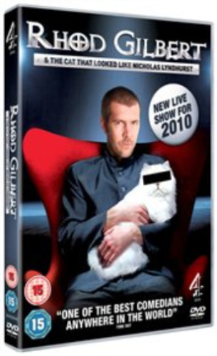 Rhod Gilbert and the Cat That Looked Like Nicholas Lyndhurst DVD NEW