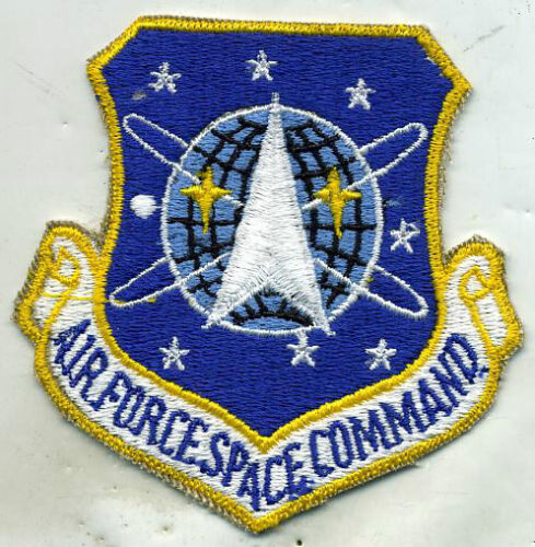 US Air Force Space Command Color Patch Other Space Travel - 416