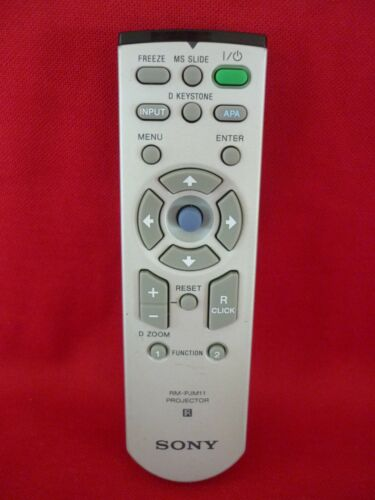 SONY PROJECTOR REMOTE CONTROL RM-PJM12 WORKS WELL