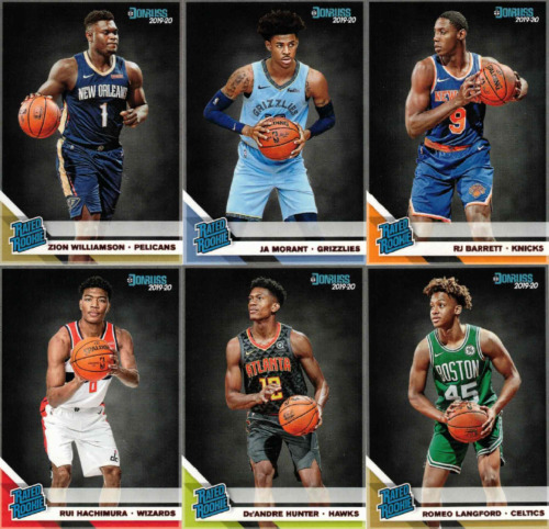 2019-20 DONRUSS BASKETBALL - RATED ROOKIES - CARDS #201-250 YOU PICK YOUR CARDSBasketball Cards - 214