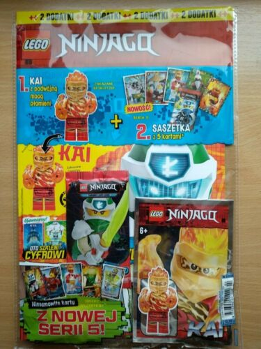 LEGO NINJAGO 2 2020 i KAI Limited Edition Mini Figure i Trading Card Game