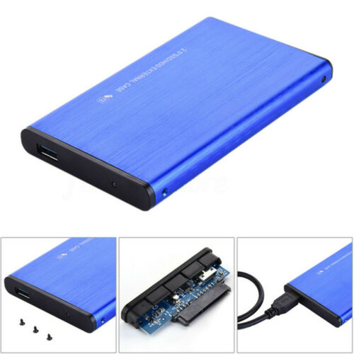 USB 3.0 Portable External Hard Drive Ultra Slim For Xbox One Mac Windows