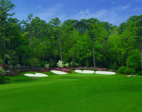 Augusta National 13th Hole 11 x 14  # 5066