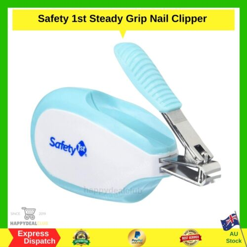 SAFETY 1ST Steady Grip Infant Nail Clipper Comfortable Grip NEW FREE SHIPPING AU