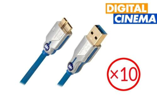 Monster USB 3.0 Type B to Micro Cable - 2 Meters | Set of 10