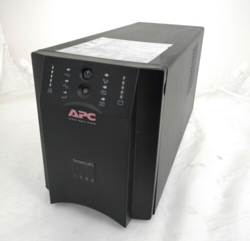 APC SUA1500I Smart-UPS 1500VA 980W 230V TOWER UPS w New Battery 6-mth wty