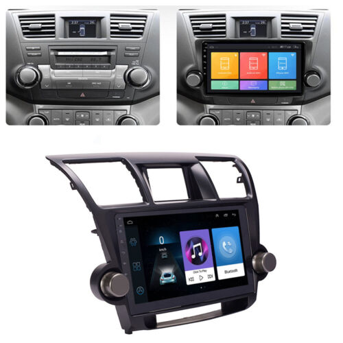 10.1'' Android 9.1 Car Stereo Radio Head Unit GPS for Toyota Kluger 2008-2013