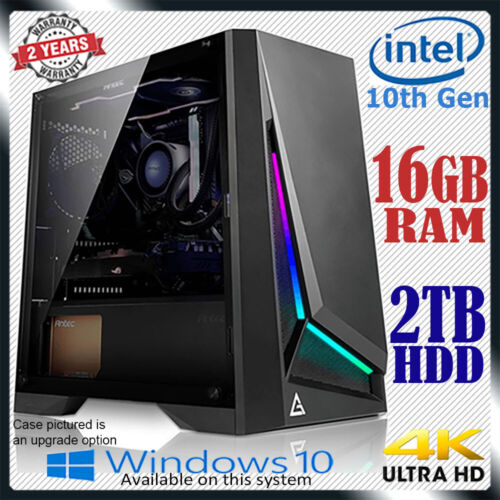 Intel Dual Core Computer 16GB RAM 2TB Home Office & Gaming Desktop PC i5 i7 upg <br/> ✅9th Gen Intel ✅Responsive Performance ✅USB 3.1 ✅HDMI
