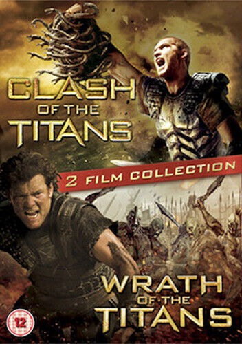 CLASH OF THE TITANS / WRATH OF THE TITANS BLU-RAY [UK] NEW BLURAY