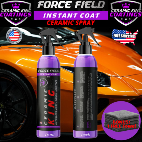 Force Field Ceramic King Polish Seal Shine Protect Armor Your Ride #1 WorldWide <br/> ⭐⭐⭐⭐⭐