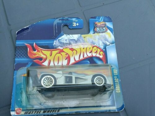 VOITURE MATTEL HOT WHEELS 2003 HIGHWAY 35 CADILLAC LMP SOUS BLISTER N°126