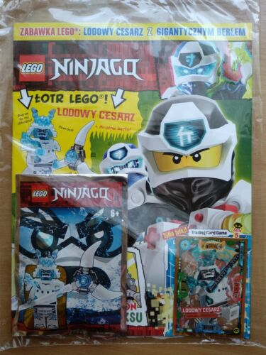 LEGO NINJAGO 4 2020 i ICE EMPEROR  Limited Edition Mini Figure